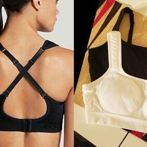 Bundle of Jocky sports bra high impact seam free
